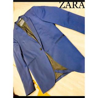 ZARA - 新品未使用 大人気デザインカラー ZARA メンズ スーツジャケット オシャレ