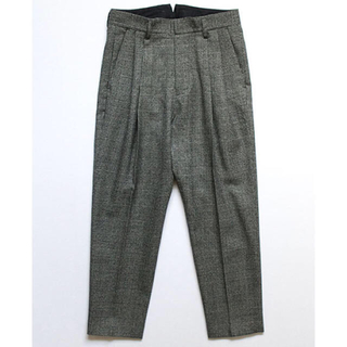 COMOLI - stein 19AW TWO TUCK WIDE TROUSERS