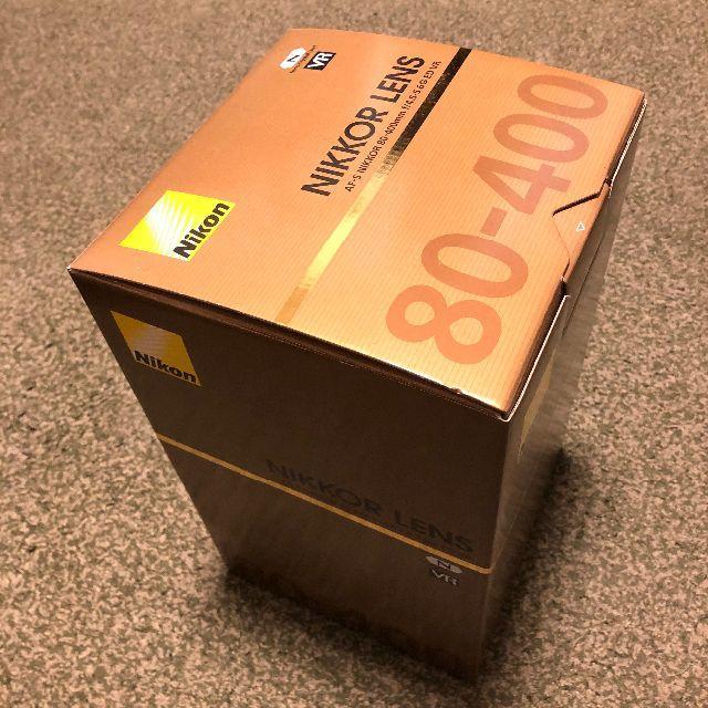 Nikon(ニコン)のAF-S NIKKOR 80-400mm F4.5-5.6G ED VR 新品 スマホ/家電/カメラのカメラ(レンズ(ズーム))の商品写真