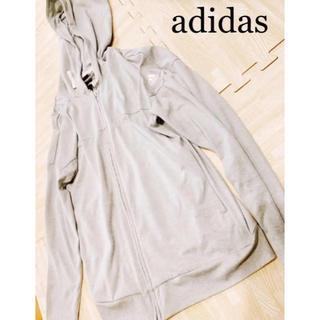 adidas - 超美品 adidas アディダス パーカー ランニングウェア レディース