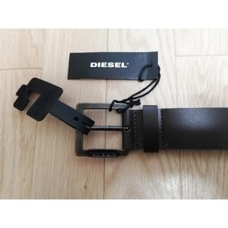 DIESEL - 新品未使用◆DIESEL 本革ベルト・ダークブラウン  メンズビジネス