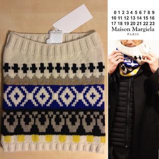 Maison Martin Margiela - 新品■M■マルジェラ 18aw■シームレス スヌード■オフホワイト■8171