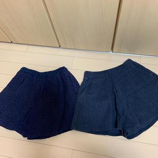 UNIQLO - ショートパンツ  2枚セット   130サイズ