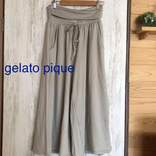 gelato pique - gelato pique モダール パンツ ルームウェア グレー フリーサイズ