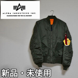 ALPHA INDUSTRIES - ALPHA アルファ MA-1 JAPAN FIT