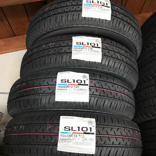 BRIDGESTONE - セイバーリングSL101 155 65R13 4本セット