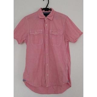 TOMMY HILFIGER - シャツ TOMMY HILFIGER トミー ヒルフィガー XS サイズ ピンク