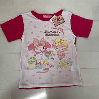 サンリオ - Tシャツ130 マイメロディ ピンク サンリオ