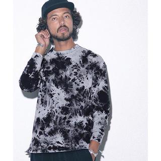 nano・universe - nano・universe ROYAL PALM/RPタイダイ染めTシャツ LS