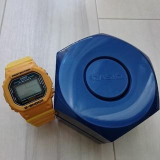 ジーショック(G-SHOCK)の希少❗ G-SHOCK DW5600ED-9 イエロー スピード ジーショック(腕時計(デジタル))