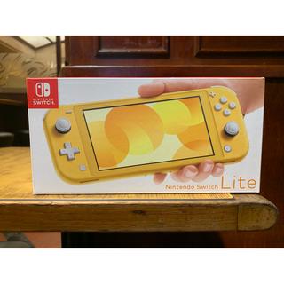 ニンテンドースイッチ(Nintendo Switch)のNintendo Switch Lite イエロー本体(携帯用ゲーム機本体)