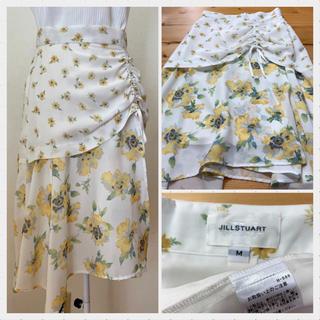 JILLSTUART - JILLSTUART 花柄スカート