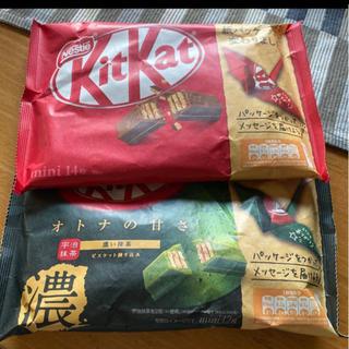 ネスレ(Nestle)のキットカット2種(菓子/デザート)