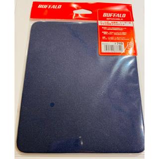 バッファロー(Buffalo)の送料込新品 バッファロー マウスパッド ブルー BPD04BLA(その他)