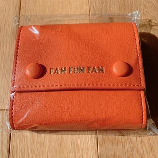 AAA - AAA FFF ミニウォレット orange
