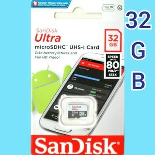 SanDisk - サンディスク  microSDカード  32GB  マイクロSD