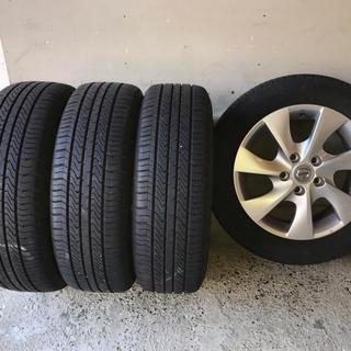 日産 - 日産純正 セレナ  195/60R16 タイヤ&ホイール 4本セット