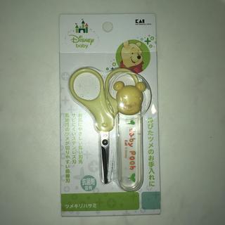 ディズニー(Disney)の【新品】乳幼児 ベビー 爪切り ツメキリハサミ(爪切り)