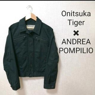 Onitsuka Tiger - 【状態良好】Onitsuka Tiger ジャケット M ブラック 春夏きれい色