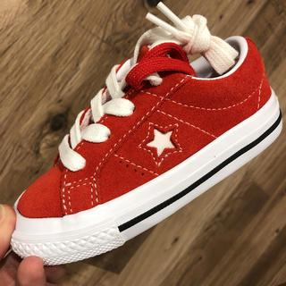 CONVERSE - 【入手困難】CONVERSE スニーカー 子供靴 ワンスター 三ツ星チャック