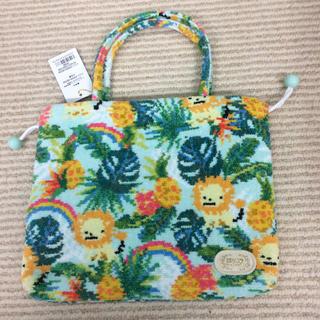 FEILER - 【新品】ジャングル柄  バーニーズ  ×  フェイラー  巾着バッグ