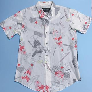 MILKBOY - ミルクボーイ MILKBOY パフェ柄シャツ 半袖