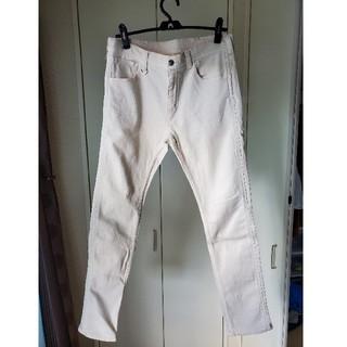 ユニフォームエクスペリメント(uniform experiment)のUE  ホワイトストレッチジーンズ(デニム/ジーンズ)