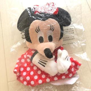 ミニーマウス(ミニーマウス)の新品・未開封 ミニーちゃんパペット(ぬいぐるみ/人形)