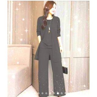 即納♡ladies XL size パンツスーツセット