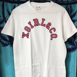 エックスガール(X-girl)の数回のみ ロゴTシャツ(Tシャツ(半袖/袖なし))