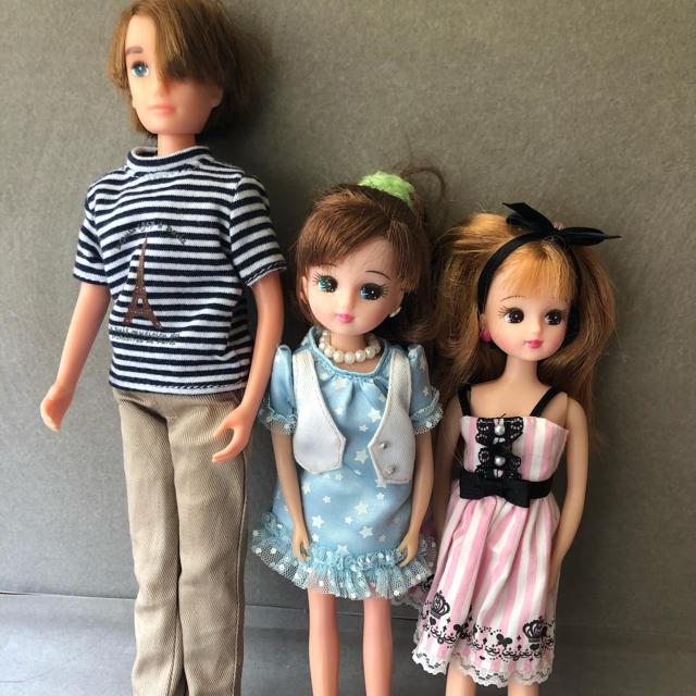 Takara Tomy(タカラトミー)のりかちゃん人形セット キッズ/ベビー/マタニティのおもちゃ(ぬいぐるみ/人形)の商品写真