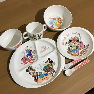 ディズニー(Disney)のミッキーマウス ランチプレート(プレート/茶碗)
