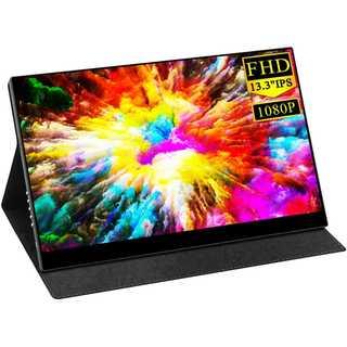 Vecele 13.3インチ モバイルディスプレイフルHD IPSパネル