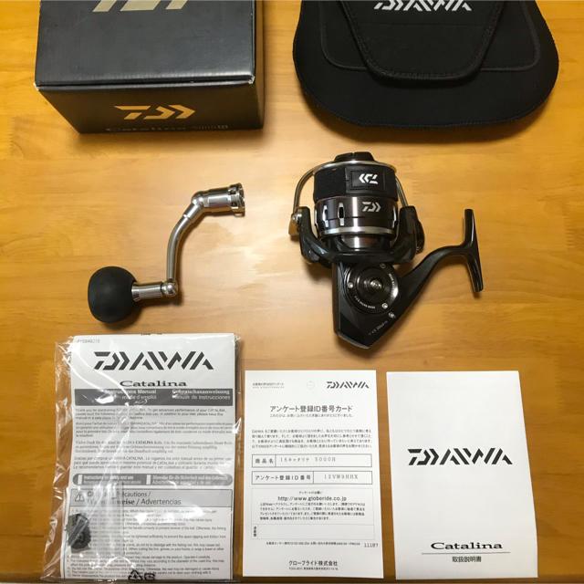 DAIWA(ダイワ)のDAIWA 16キャタリナ  5000H  スポーツ/アウトドアのフィッシング(リール)の商品写真