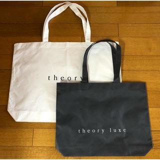 theory - セオリー セオリーリュクス トートバッグ 大小2つセット