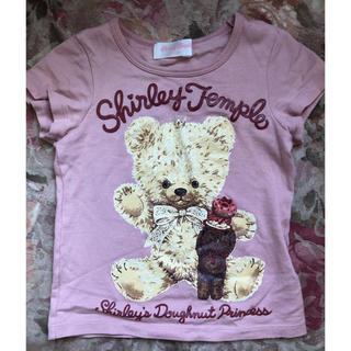 Shirley Temple - シャーリーテンプル   Tシャツ 100 くま