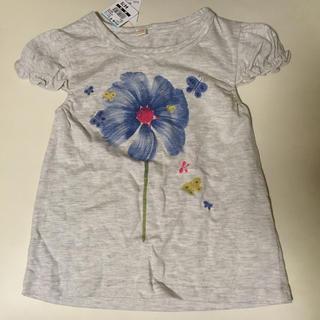 西松屋 - 【新品未使用】花柄Tシャツ 110