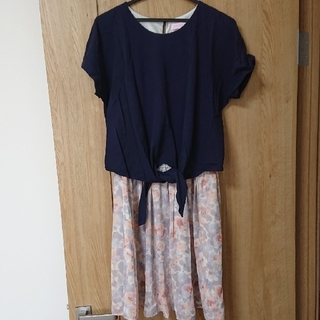 Wacoal - レスピレーション ピンクレーベル マタニティー 授乳服 ワンピース M