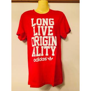 アディダス(adidas)のadidas originals Tシャツ アディダスオリジナルス 赤 レッド(Tシャツ(半袖/袖なし))