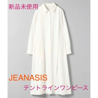 JEANASIS - 【JEANASIS】テントラインシャツワンピース