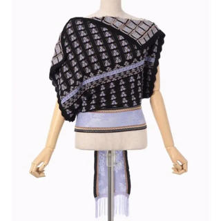 マメ(mame)のmame ☆ 19SS panel knit tops(シャツ/ブラウス(半袖/袖なし))