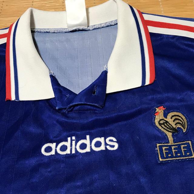 adidas(アディダス)のサッカーフランス代表 ユニフォーム スポーツ/アウトドアのサッカー/フットサル(ウェア)の商品写真