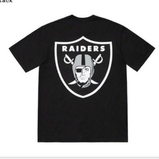 シュプリーム(Supreme)の新品 supreme NFL Raiders pocket tee 47 M(Tシャツ/カットソー(半袖/袖なし))