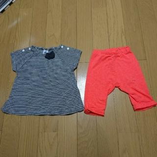 PETIT BATEAU - ☆プチバトー・ZARA☆ 86cm Tシャツ・パンツ