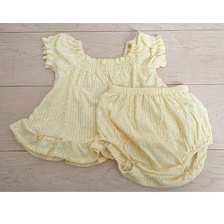 新品 ベビー 80cm 女の子 夏服 セットアップ