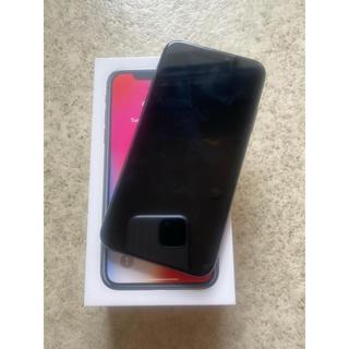Apple - iPhoneX本体 256GB スペースグレー
