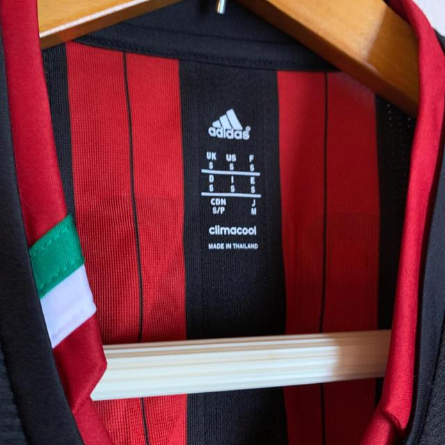 adidas(アディダス)のACミラン ユニフォーム スポーツ/アウトドアのサッカー/フットサル(ウェア)の商品写真