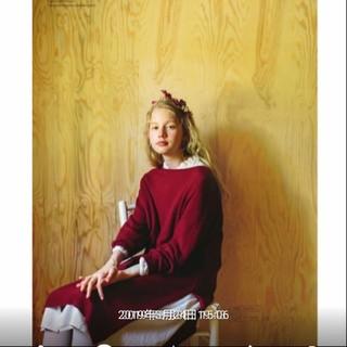 サマンサモスモス(SM2)のsm2新品タグ付カタログ掲載ラ―ベンニットワンピースレッド(ロングワンピース/マキシワンピース)