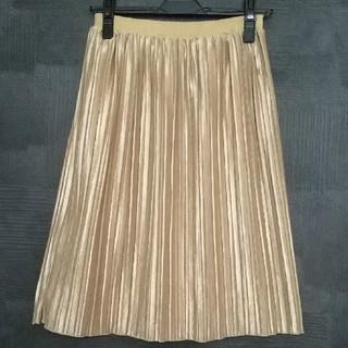 プーラフリーム(pour la frime)の未使用☆アコーディオンプリーツスカート(ひざ丈スカート)