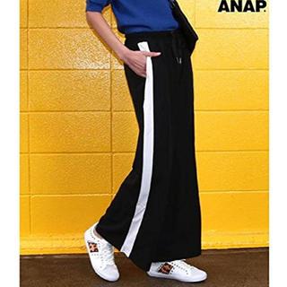 ANAP - ANAP アナップ サイドライン ワイドパンツ